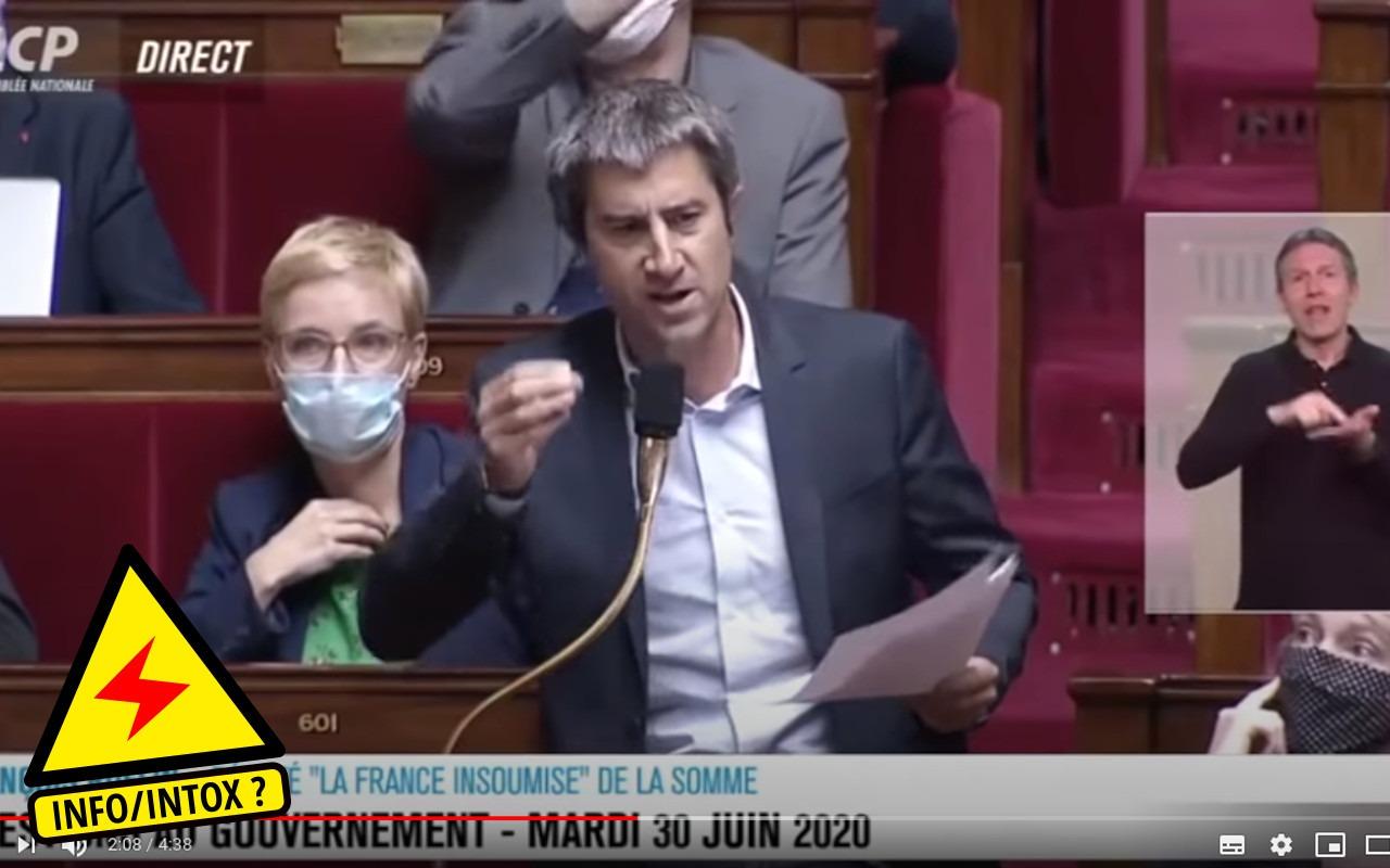 François Ruffin pointe les mensonges de Macron à la Convention Citoyenne pour le Climat sur la 5G