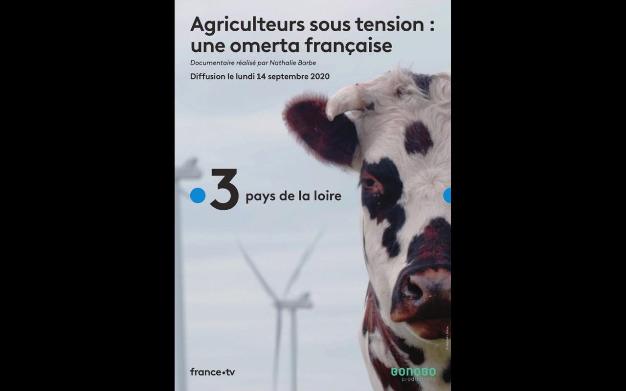 Agriculteurs sous tension : une omerta française (documentaire TV)